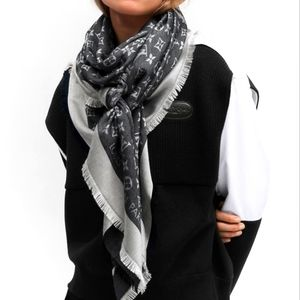 Louis vuitton denim shawl